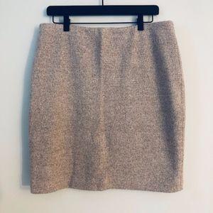 Ann Taylor Blush Knee Length Skirt- Size 12